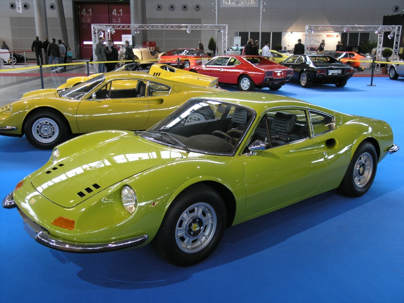 Retro Classics Stuttgart 2011 Ferrari Dino 246 Gt M Serie