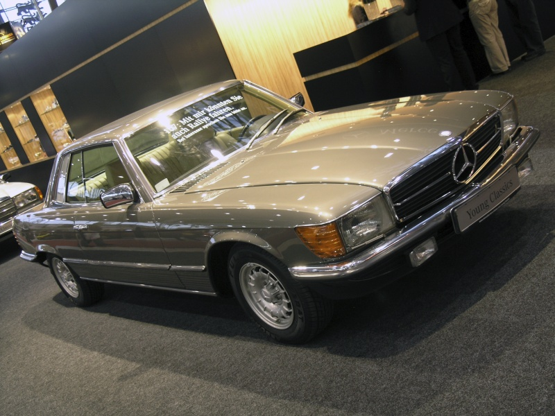 retro classics stuttgart 2011 mercedes 280 slc. Black Bedroom Furniture Sets. Home Design Ideas